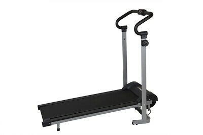 Confidence Fitness Magnetic Manual Folding Treadmill Running Machine