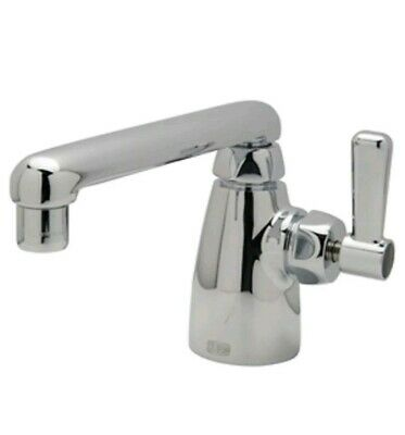 Zurn Industries Single Handle Lever Lab Faucet with 6 in. Cast Iron Spout in Pol