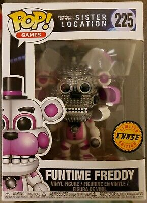 Funko Pop! Five Nights at Freddy's Sister Location Funtime Freddy #225 Chase
