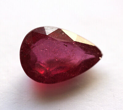 9,61 ct  Rubis du Mozambique traité