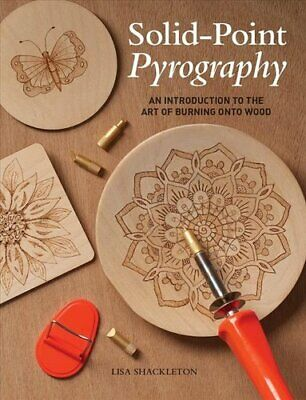 Solid-Point Pyrography An Introduction to the Art of Burning on... 9781784945206