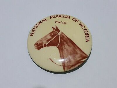 Vintage Phar Lap Badge National Museum of Victoria Excellent Condition