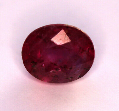 1,14 ct Rubis Naturel du Mozambique - Non traité