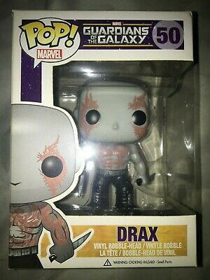 Funko Pop Marvel Guardians Of The Galaxy Drax #50