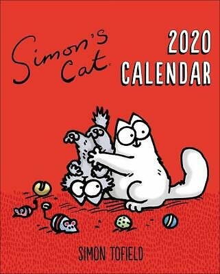 Simon's Cat 2020 Easel Desk Calendar