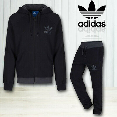 Mens Adidas Tracksuit Sports Trouser Hoodie Bottoms Pants Fitness Gym Jogging