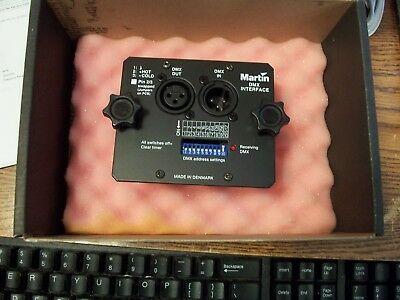 Martin DMX Interface -Remote  Magnum 2000  New in Box