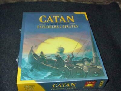 Mayfair Games 2013 : Catan - Explorers & Pirates Expansion (SEALED)