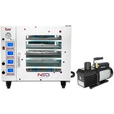 7.5CF BVV Neocision Lab Certified Vacuum Oven and & VE280 9CFM 2-Stage Pump Kit
