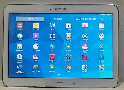 """Samsung Galaxy Tab 4 10.1"""" Wifi 16GB SM-T530 Android 4.4/ White/Fully Functional"""