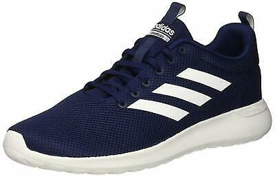 Adidas Mens Lite Racer CLN Fabric Low Top Lace Up Running, Blue, Size 12.0 Fnho