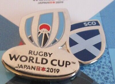 NEW Nickel RWC 2019 Rugby World Cup Japan 2019 SCOTLAND Pin Badge