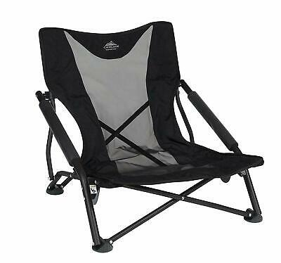 Cascade Mountain Tech Compact Low Profile Outdoor Folding Camp Chair with Carry