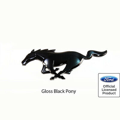 MUSTANG PONY Chroma Accessory Emblemz Officially Licensed Product by FORD MOTORS