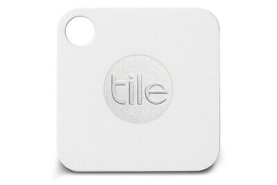 New Tile Mate White 1-Pack Rt-05001 Bluetooth Wireless Key Fob Tracker Device