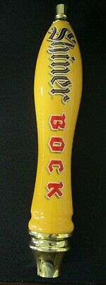 "Shiner Bock Beer Pub Style Torpedo Tap Handle - Free Shipping - 12"" Tall"