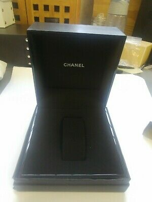 Chanel Empty  Black Watch Box