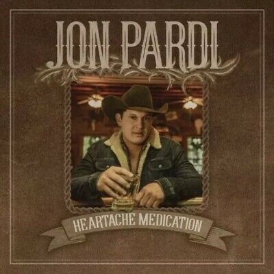 Jon Pardi - Heartache Medication - Brand New CD - Fast Free Shipping