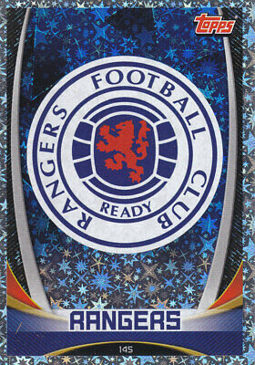 TOPPS MATCH ATTAX SPFL 2019-20 - Club Badge - Glasgow Rangers - # 145