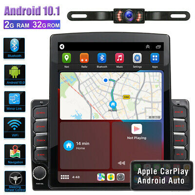 """GPS Navigation With Map Bluetooth Radio Double Din 6.2"""" Car Stereo DVD Player BT"""