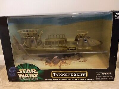 Star Wars Tatooine Skiff Power Of The Force POTF 1999