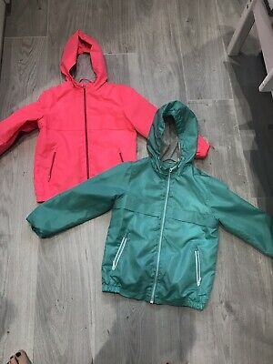 2 Marks & Spencer Rain Jackets Age 7-8 Years IMMACULATE