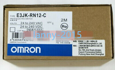 1PC New Omron photoelectric switch E3JK-RN12-C