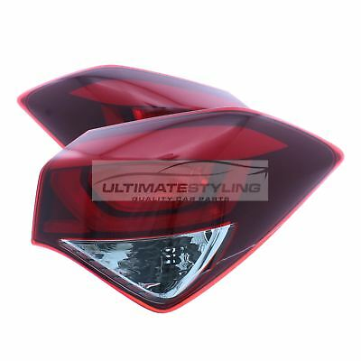 Hyundai i20 2014-> Rear Tail Light Lamp Pair Left & Right