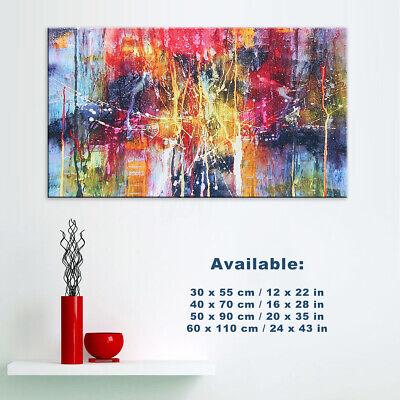 Abstract Canvas Print Painting Home Room Wall Art Poster Decor Unframed 4 Size