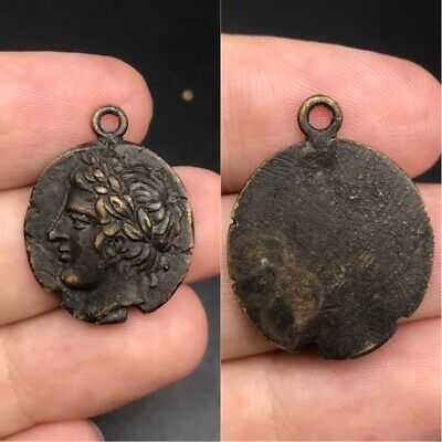 Wonderful old Roman coin unique lovely pendant
