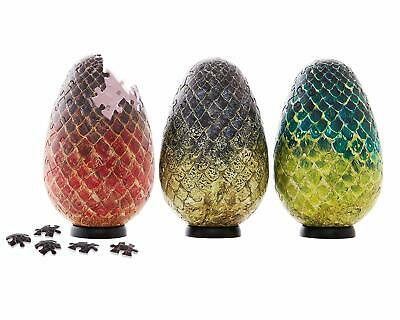 GAME OF THRONES DRAGON EGG PUZZLES SET (7m7)