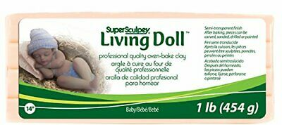 Polyform Products Company Super Sculpey Living Doll Argilla 1 (662)