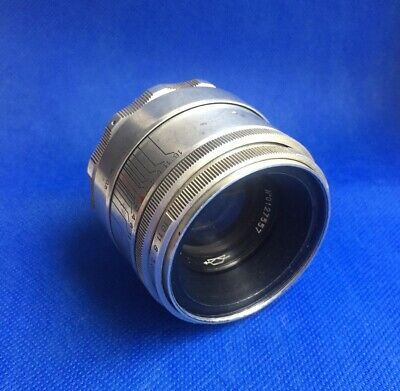KMZ Helios 44 silver 2/58mm, 13 blades (Biotar Copy) for SLR and Mirrorless