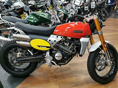 Fantic Caballero Scrambler or Flat Tracker 125 ABS new on the road
