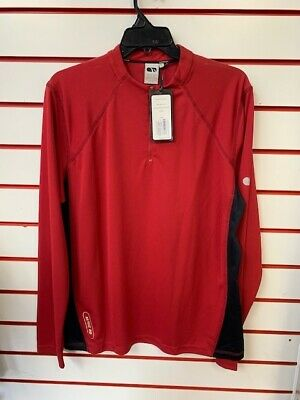 Madison Trail Jersey Long Sleeve Red XL
