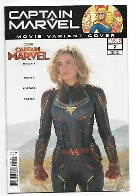 Marvel Comics CAPTAIN MARVEL #2 first printing movie variant