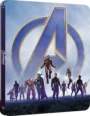 Avengers: Endgame 4K & 2D Blu Ray (Steelbook) - Limited Edition