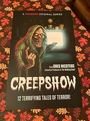 Creepshow Poster NYCC Comic Con 2019 Shudder Greg Nicotero Exclusive Limited NEW