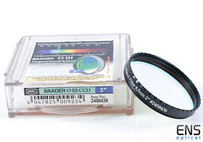 "Baader 2"" OIII Oxygen III 8.5nm CCD Imaging Filter"