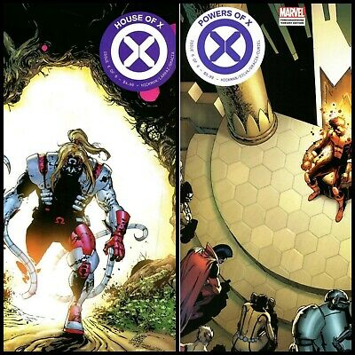 House Of X 6 & Powers Of X 6 Foreshadow Variant Set 2019 10/9