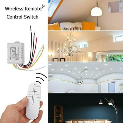 1/2/3 Way Wireless RF Remote Control Switch ON/OFF Lamp Receiver Transmitter