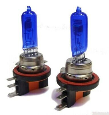 Pair 55W H7 7500K Xenon Headlight Bulbs Lamp For Peugeot 307 2003-2009