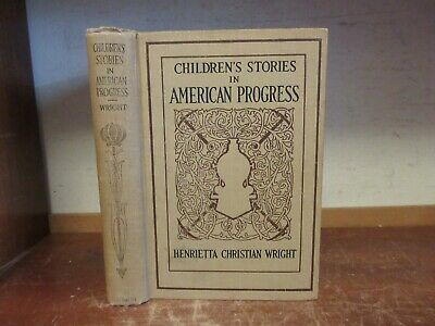 Old AMERICAN PROGRESS Book LEWIS / CLARK EXPEDITION WESTERN INDIAN WAR PIRATES +