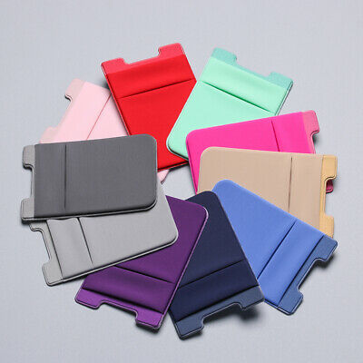 Adhesive Sticker Cellphone Pocket Credit Cards Pouch Card Sleeve ID Card Holder