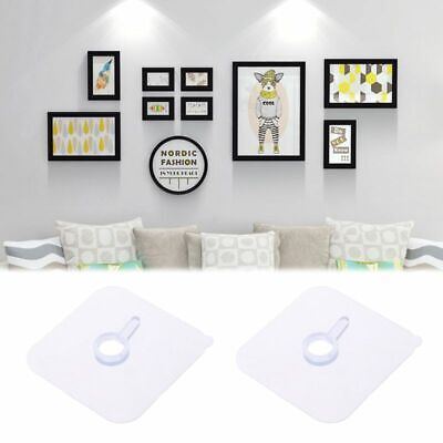 Seamless Strong Self Adhesive Hook Holder Wall Hanger Hanging For Photo Frame