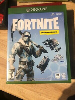 XBox Battle Royale Fortnite 1000 V-Bucks + Epic Frostbite Skin + Deep Freeze S