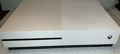 Microsoft Xbox One S 1681 500GB Gaming Console ONLY, White-EXCELLENT COND.(#361)