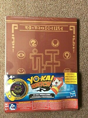 YO-KAI WATCH ALBUM, exclusive Medallion included