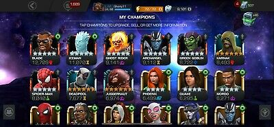 Marvel Contest of Champions Account - MCOC - 544k FULL ACCESS EMAIL