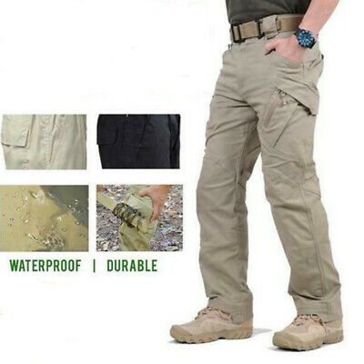 Soldier Tactical Waterproof Pants Men Cargo Pants Hiking Outdoor Quick Dry